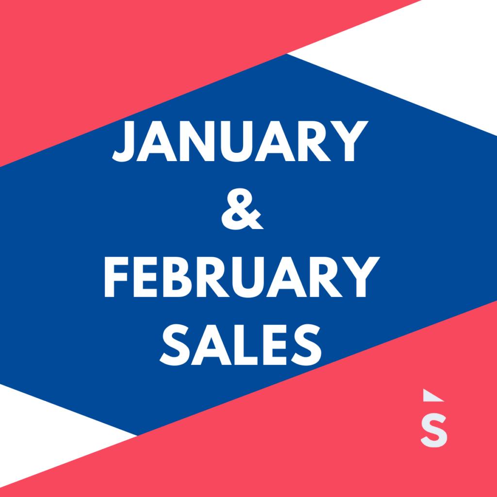 Jan and Feb sales 2021