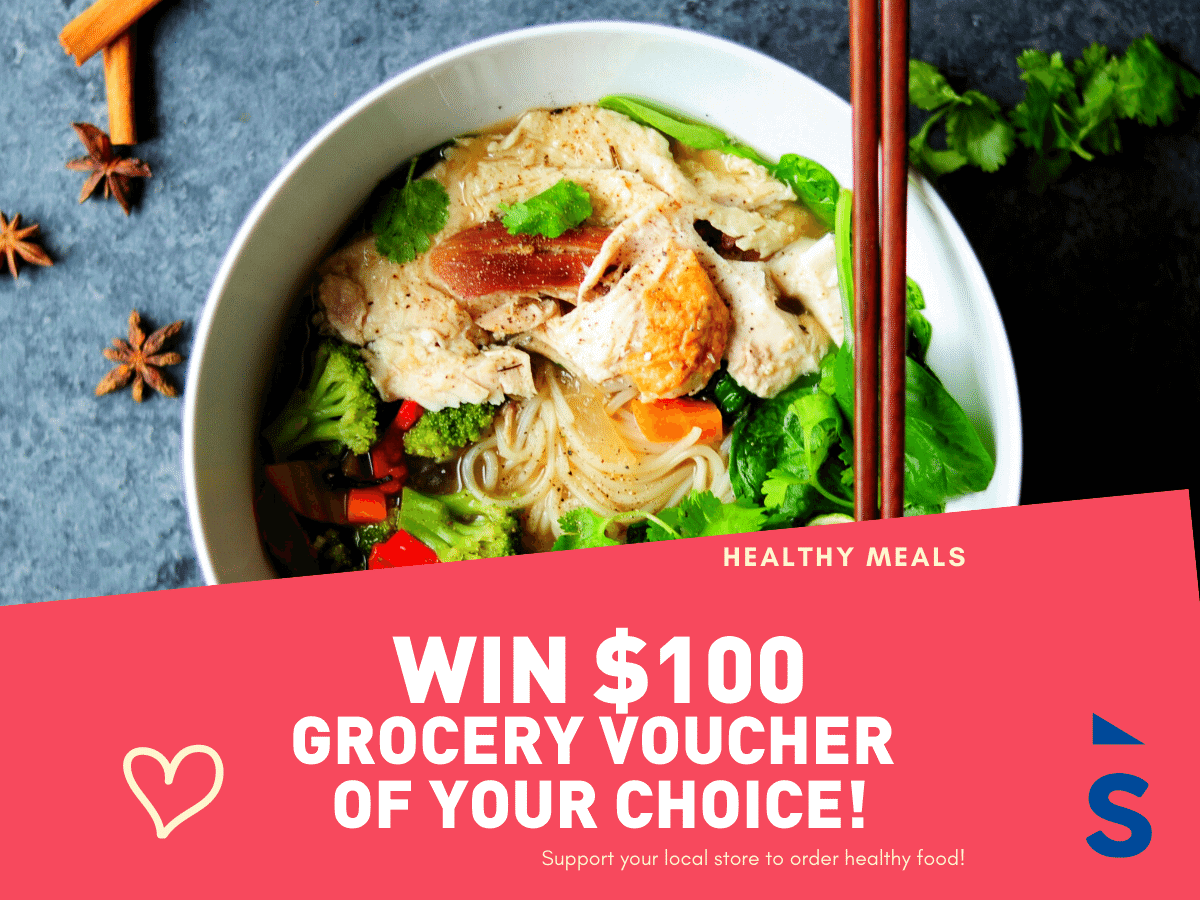 Win $100 Grocery Voucher of Your Choice